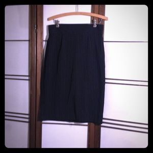 5cfcbeaf298 Shape FX. Control-top Pinstripe Pencil Skirt